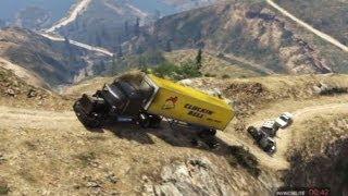Download GTA 5 TRAILER TRUCK TERROR OFFROAD Video