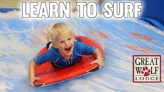 Download Michael's MAJOR Surfing Wipeout - Family Fun Pack Great Wolf Lodge Video
