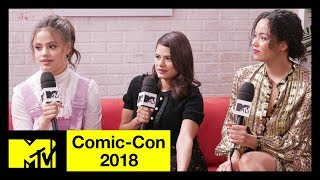 Download 'Charmed' Reboot Cast on Honoring the Original Series | Comic-Con 2018 | MTV Video