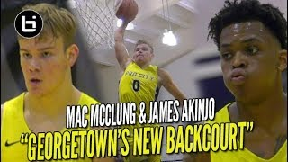 Download Mac McClung CRAZY Windmill In FIRST College Game!! LIT Backcourt Debut w/ James Akinjo!! Video