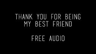 Download thank you for being my best friend ll free audio Video
