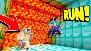 Download Minecraft SUPER CRAZY LAVA RUN! with PrestonPlayz & UnspeakableGaming Video