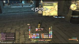 FFXIV RainbowMage miniparse Overlay Plugin for ACT Parser setup