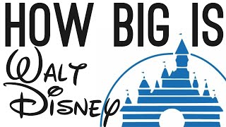 Download How BIG is Walt Disney? (The Story of Disney) Video