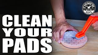 Download How To Clean And Maintain Foam Polishing Pads - Chemical Guys Car Care Video
