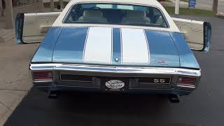Download 1970 Chevrolet Chevelle SS $48,900.00 Video