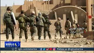 Download Syrian army claims to have retaken Al-Bukamal for second time Video