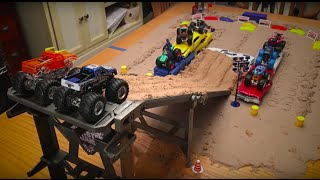 Download Hot Wheels Monster Jam Tabletop Downhill to Amazing Freestyle! Video