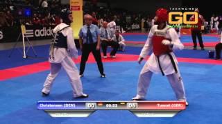 Download GO2016 Levent Tuncat vs Christensen -58Kg (HD) Video