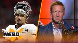 Download Joel Klatt on Jalen Hurts' QB frustrations, CFB playoff projections and more | CFB | THE HERD Video