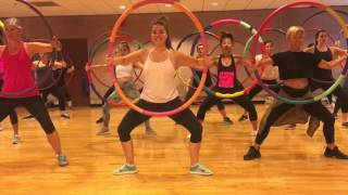 Download ″HEY BABY″ Dimitri Vegas & Like Mike vs Diplo - Dance Fitness Workout Balletics with Hula Hoops Video