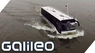 Download Der Schwimmbus - Hamburgs erstes Amphibienfahrzeug | Galileo Lunch Break Video