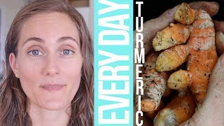 Download I Ate Turmeric Every Day for a Year    THE BENEFITS + What I Ate Today Video