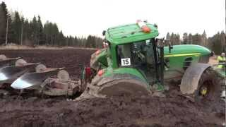 Download Ny lyckad bärgning av en JOHN DEERE 7530. Video