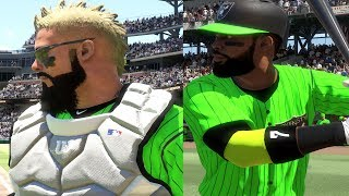Download CRAZY COMEBACK? GRAND SLAM!! - MLB THE SHOW 17 DIAMOND DYNASTY GAMEPLAY Video