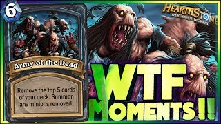 Download WTF MOMENTS! | Hearthstone Rise of Shadows moments Video