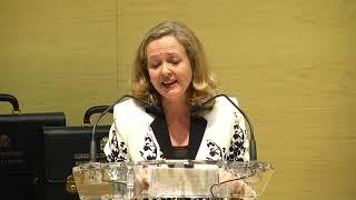 Download Discurso en la toma de posesión de la vicepresidenta Nadia Calviño. Video