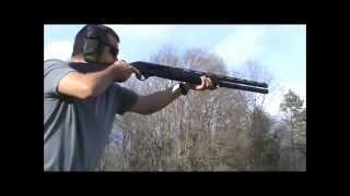 Download First Shots thru my Stoeger M3000 Video