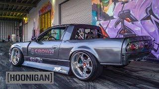 Download [HOONIGAN] DT 136: Nissan 240SX S13 Drift Truck Video