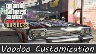 Download GTA 5 Online Lowrider DLC - Voodoo Fully Customized Benny's Workshop Video