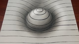 Download Drawing Easy How to Draw a 3D Sphere with Lines Video