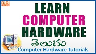 Download Learn Computer Hardware In Telugu    Computer Hardware Tutorials    Digi Teacher Video