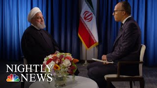 Download Extended Interview: Iranian President Hassan Rouhani | NBC Nightly News Video