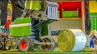 Download Stunning REAL WORKING(!) RC hay baler in Action! Video