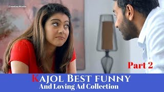 Download Best Funny And Beautiful Kajol Tv Ads Collection Part 2 Video