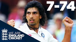 Download Ishant Sharma Takes Best EVER Figures of 7-74 at Lord's | England v India 2014 - Highlights Video