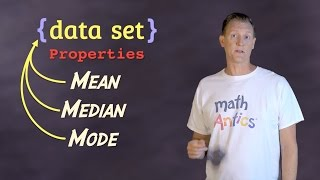 Download Math Antics - Mean, Median and Mode Video