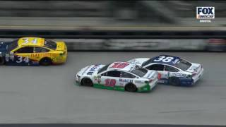 Download Monster Energy NASCAR Cup Series 2017. Bristol Motor Speedway. Danica Patrick & David Ragan Crash Video