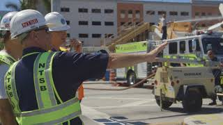 Download NTSB B-Roll of Miami, FL bridge collapse Video