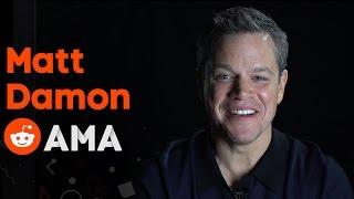 Download Matt Damon: Reddit Ask Me Anything Video