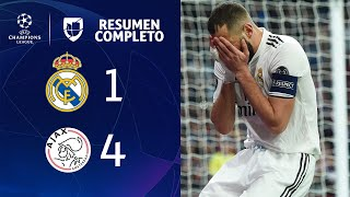Download Real Madrid 1-4 Ajax – GOLES Y RESUMEN – VUELTA OCTAVOS DE FINAL – UEFA Champions League Video