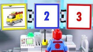 Download LEGO Spiderman Experimental Cars, Trucks, Pizza Monster Truck   LEGO Videos for Kids   Billy Bricks Video