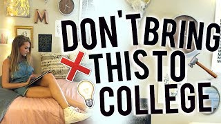 Download What You SHOULD and SHOULD NOT Bring To Your Dorm! College Packing! Video