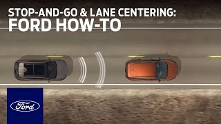 Download Adaptive Cruise Control With Stop-and-Go and Lane Centering | Ford How-To | Ford Video