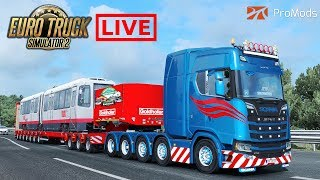Download ✅ ETS2 ProMods / Scania 10x4 / 90 Ton Bridge and Stock V8 v1.1 by Kriechbaum Video