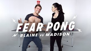 Download Siblings Play Fear Pong (Blaine vs. Madison) | Fear Pong | Cut Video