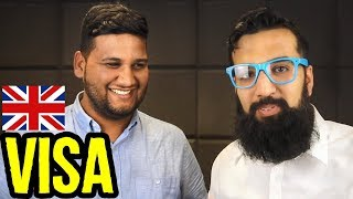Download How To Get UK Visit Visa with Hamza Khalid Young Pakistani Entrepreneur | Azad Chaiwala Show Video