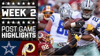 Download #8 Cowboys vs. Redskins | NFL Week 2 Game Highlights Video