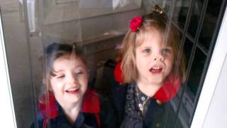 Download Kids Licking Glass and Making Faces Video