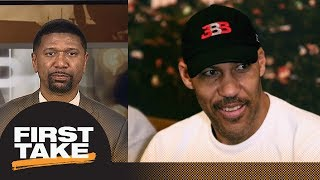 Download Jalen Rose on LaVar Ball: He is just talking to be heard with Lakers threats | First Take | ESPN Video