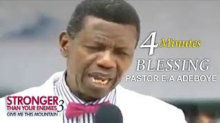 Download Pastor E.A Adeboye 4Minutes Prayer Of Blessing @ RCCG March 2018 THANKSGIVING SERVICE Video