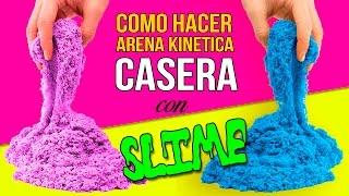 Download Cómo hacer ARENA KINÉTICA casera * SLIME de ARENA DIY Video