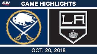 Download NHL Highlights | Sabres vs. Kings - Oct. 20, 2018 Video