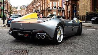 Download FIRST $1.7 MILLION FERRARI MONZA SP1 DRIVING in LONDON!! Video