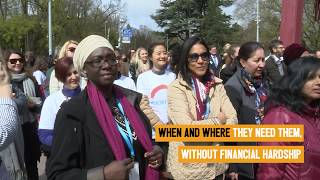 Download WHO Geneva Solidarity Chain for Health for All Video
