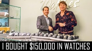 Download I BOUGHT $150,000 IN WATCHES Video